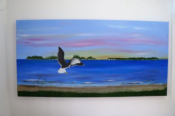 Sunrise and Gull